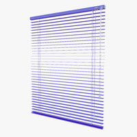 3d model horizontal blinds