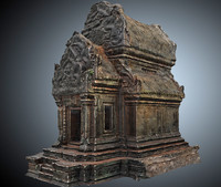 lost temples 8k 3d obj