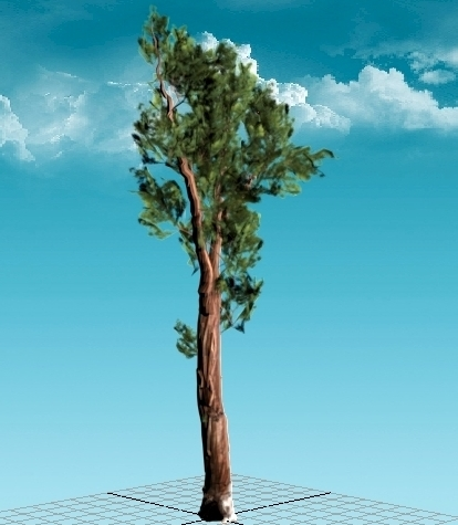 3ds sequoia tree