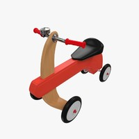 kids tricycle 3d 3ds