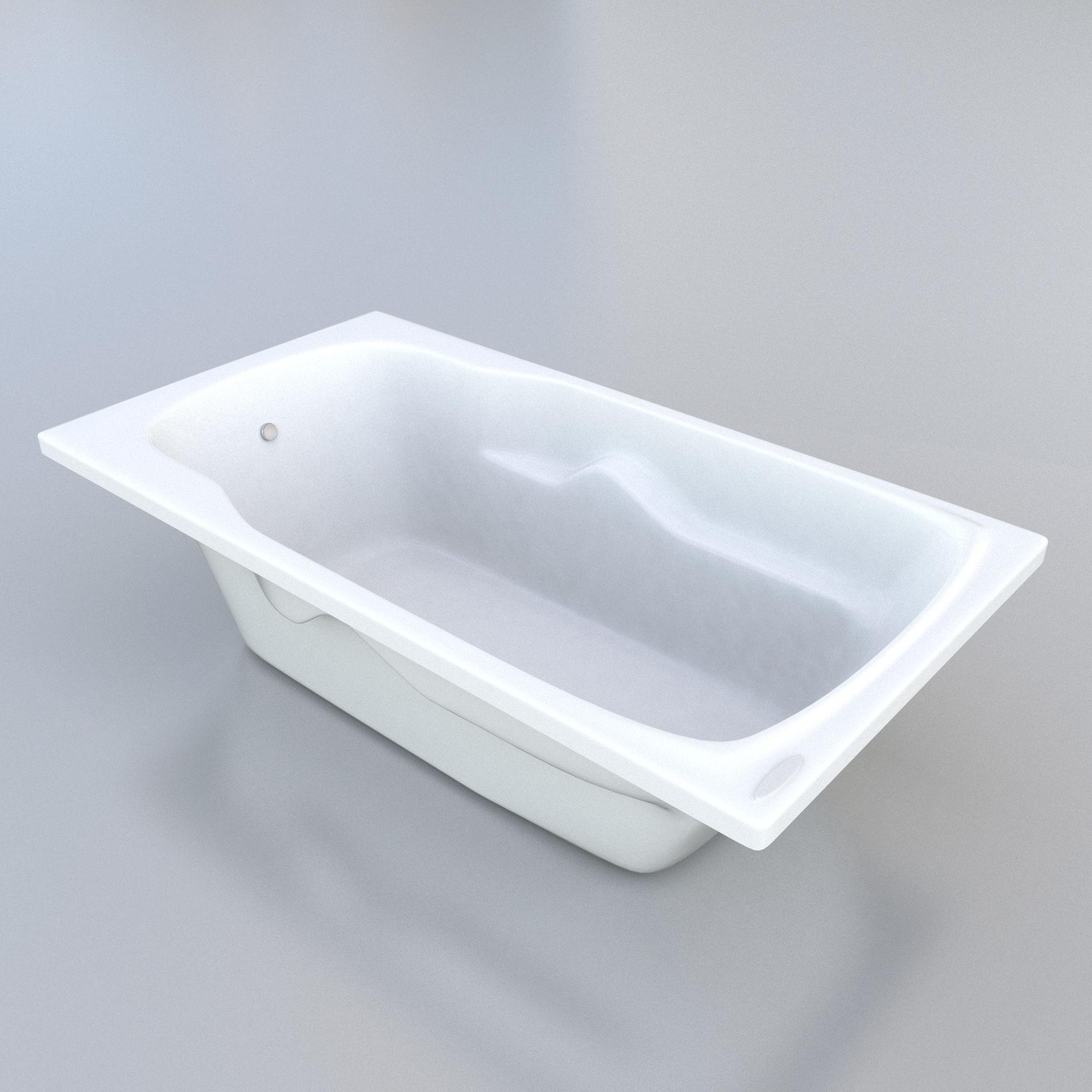 3d bathroom tub model