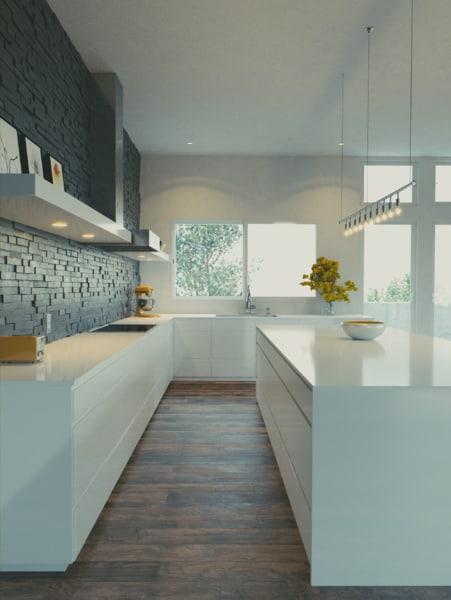 kitchen 3d blend