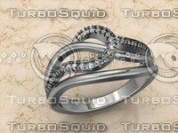 free 3dm model jewellery ring