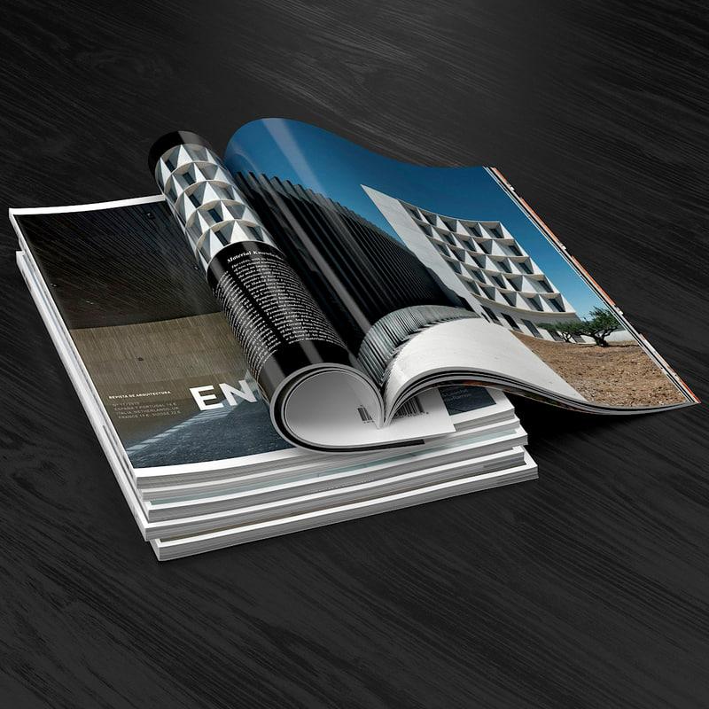 3d magazine open