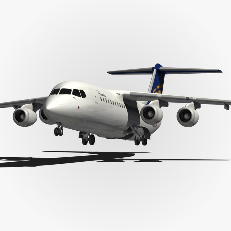 3d model bae eurowings