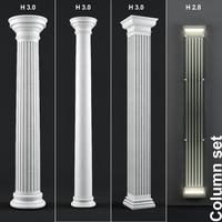 3d column model