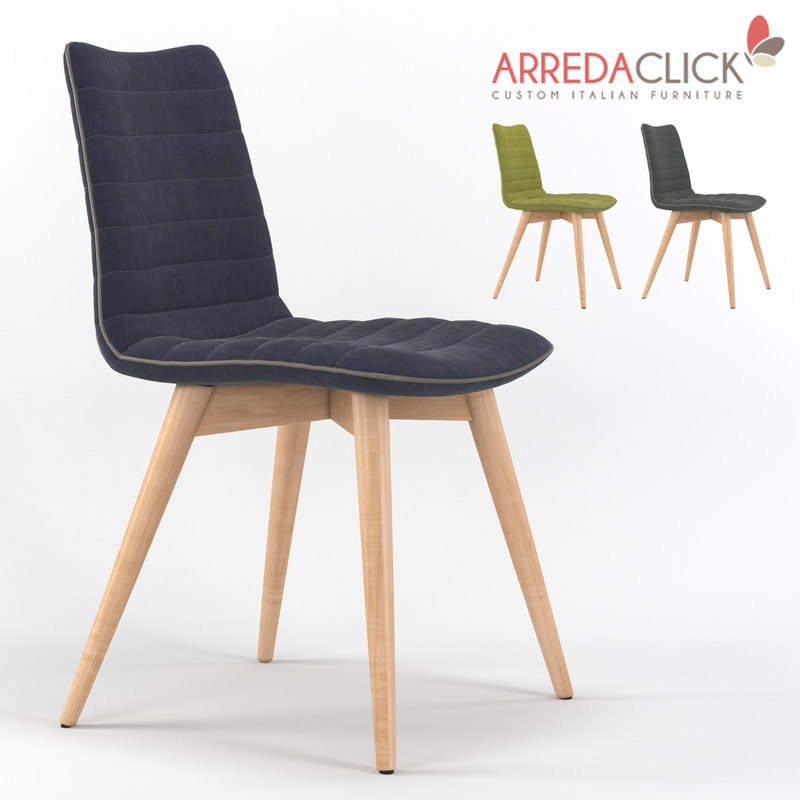 cover chair 3d max