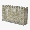 stone wall 3D models