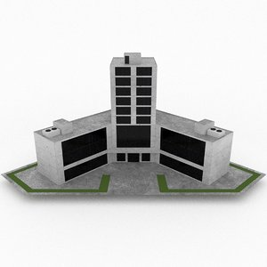 3d office build 31 model