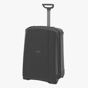 suitcase black generic 3d model
