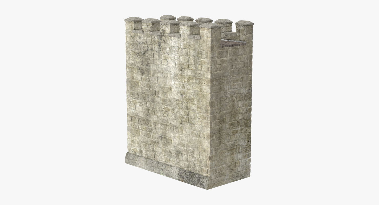 3d model wall section 03
