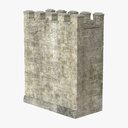 gothic wall 3D models