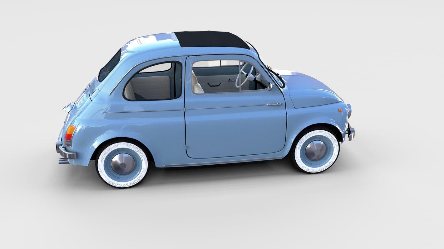 Fiat Nuova 500 1957 Rev