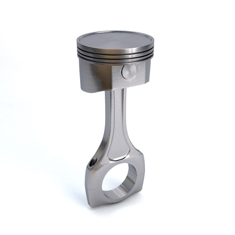 car piston 3d 3ds
