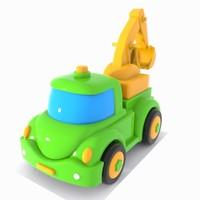 excavator truck 3d model