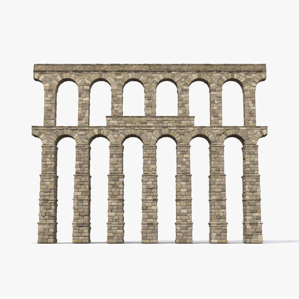 aqueduct section greco roman 3ds