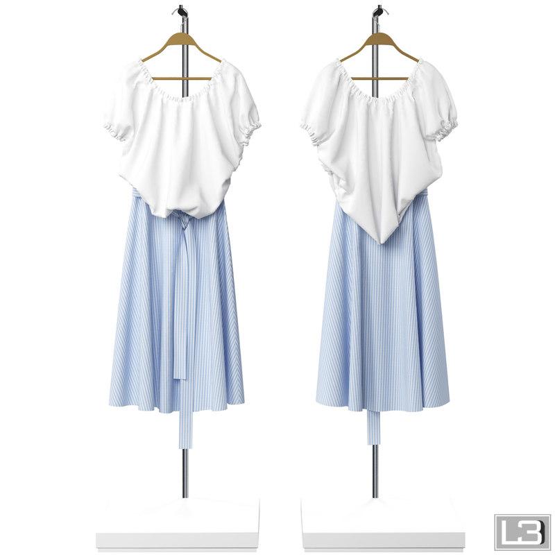 woman clothes hanger max