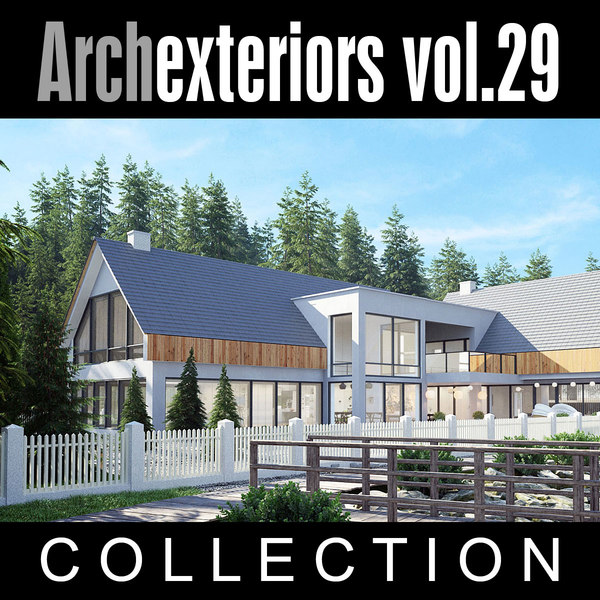 3d model archexteriors vol 29 house
