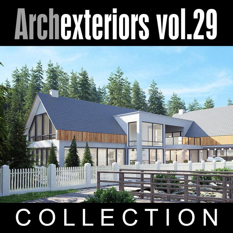 3d model archexteriors vol 29 house