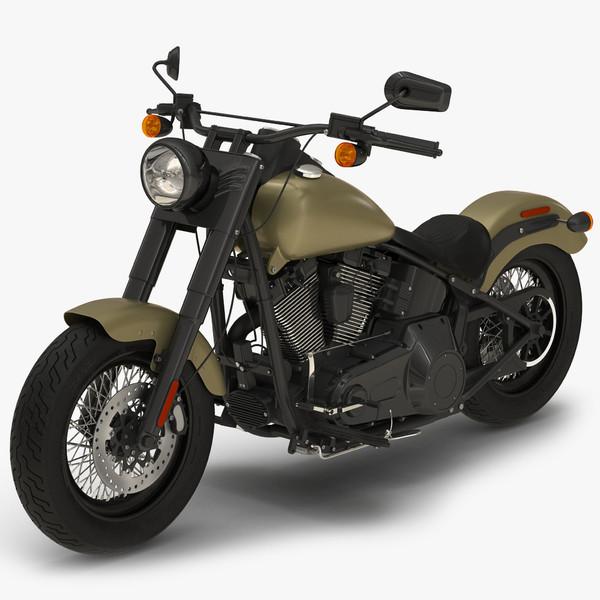 3d generic motorcycle model
