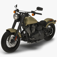 3d generic motorcycle model