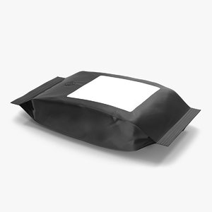 ground coffee bag plastic 3ds