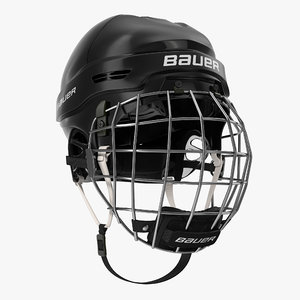 3d ice hockey helmet