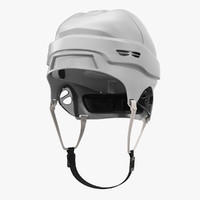 Ice Hockey Helmet Generic 2 3D Model