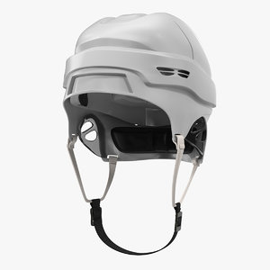 ice hockey helmet generic 3d 3ds
