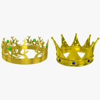 crowns 3d model