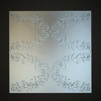3d classical decoration model