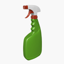 cleaning supplies 3D models