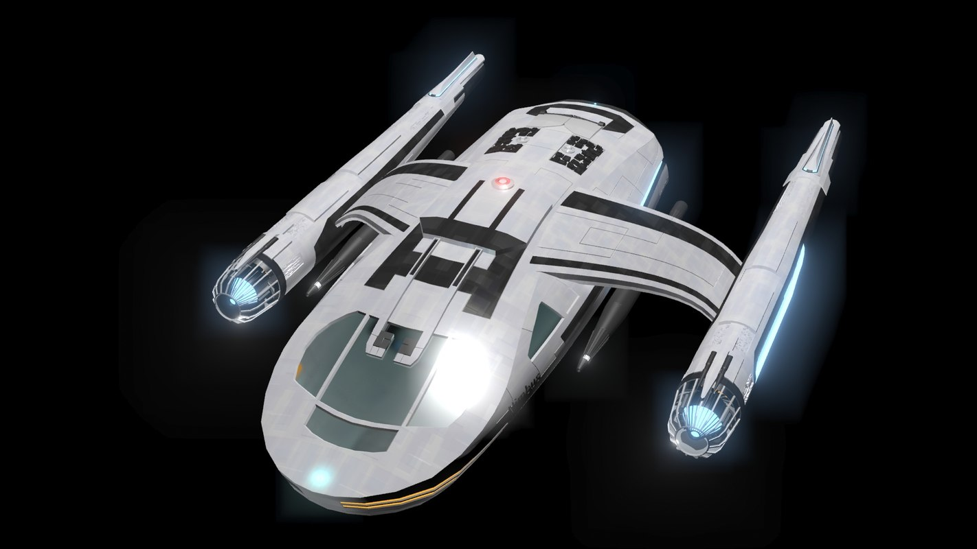 shuttle nimbus 3d model