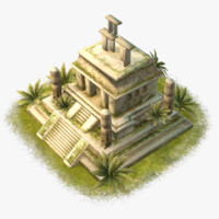 max cartoon aztec temple