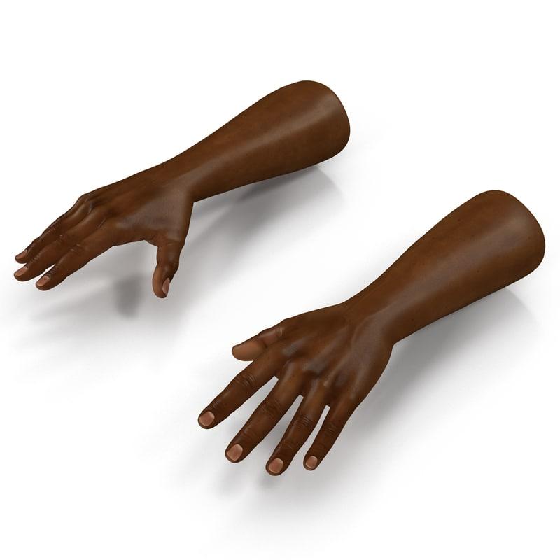 african man hands max