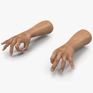 3ds man hands pose 5