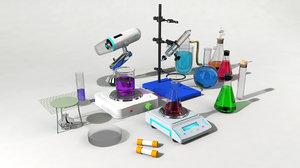 3d model set chemistry