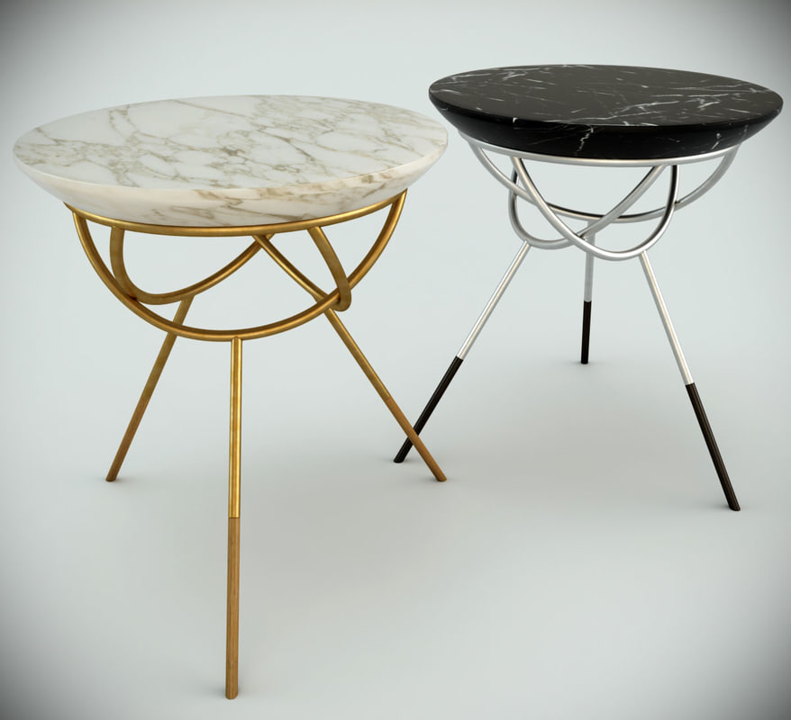 atlas table dering hall 3d model