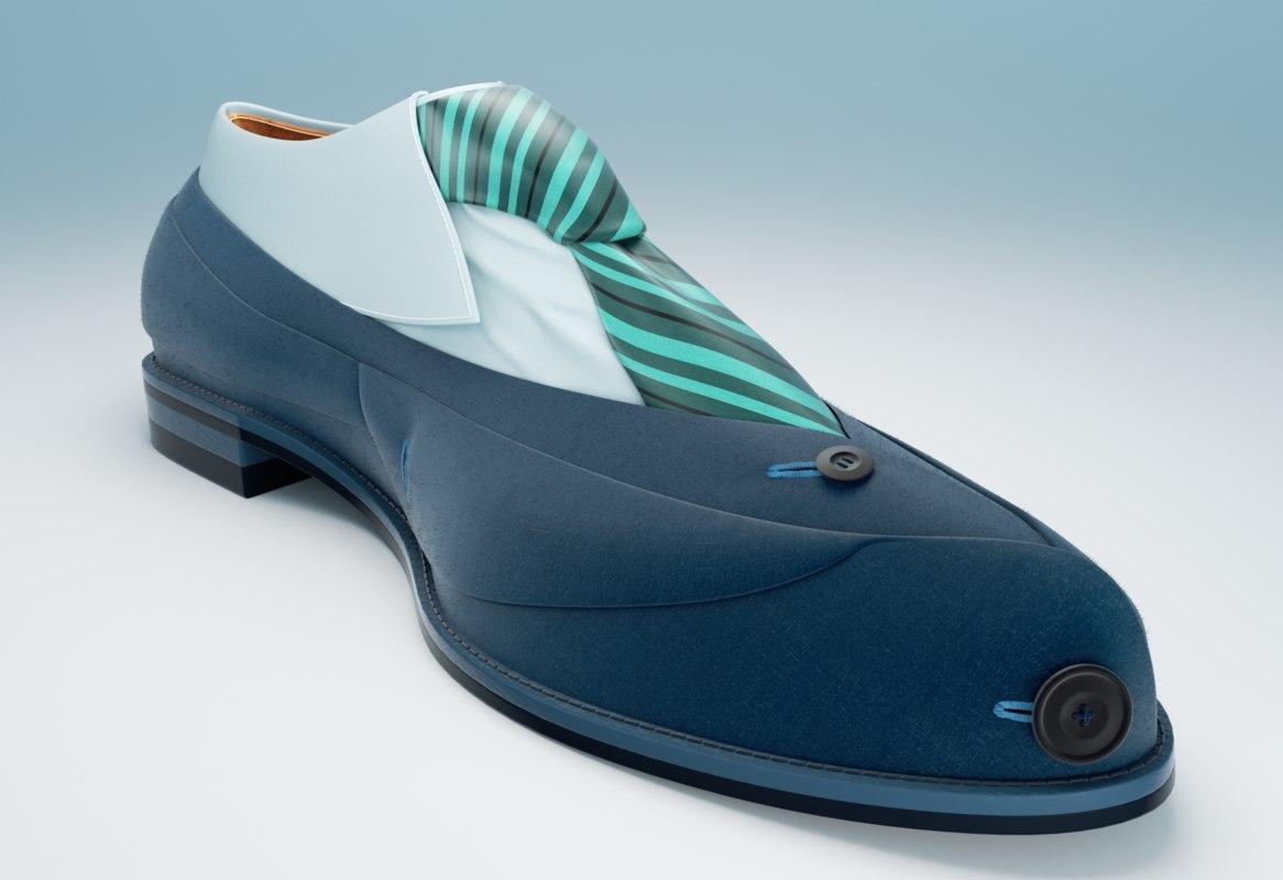Suit shoe