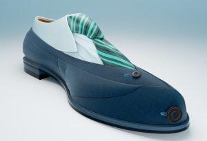 3d model shoe master blender
