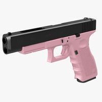 3d max glock 34 pink