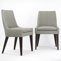 modern design dining chair 3d max
