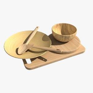 wooden tableware max