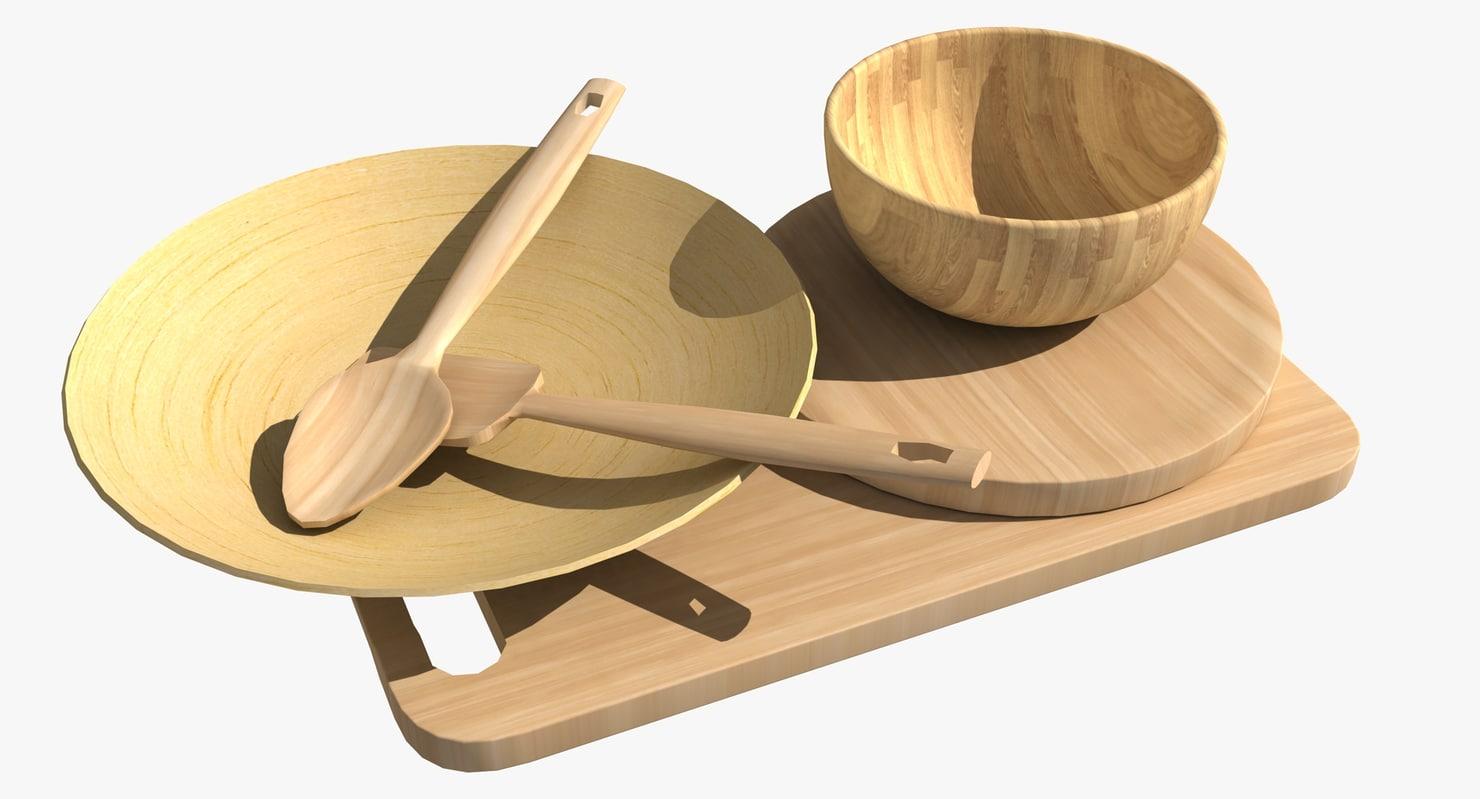 wooden tableware max
