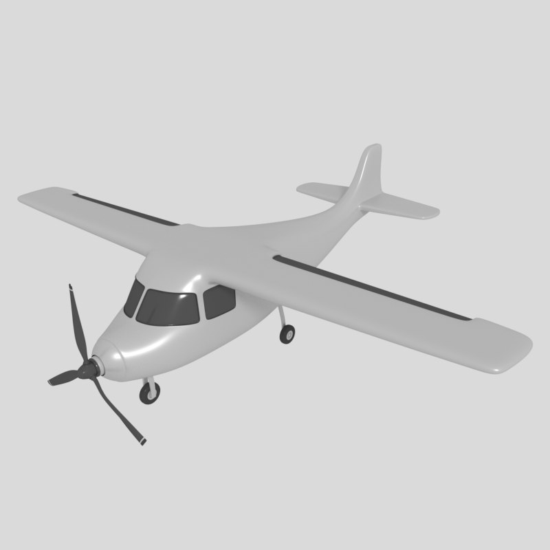 3ds stunt plane