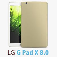 3d model lg g pad x