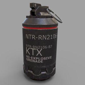 grenade elysium sci 3d 3ds