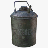 3d model old kerosene