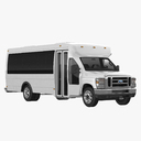 shuttle bus 3D models