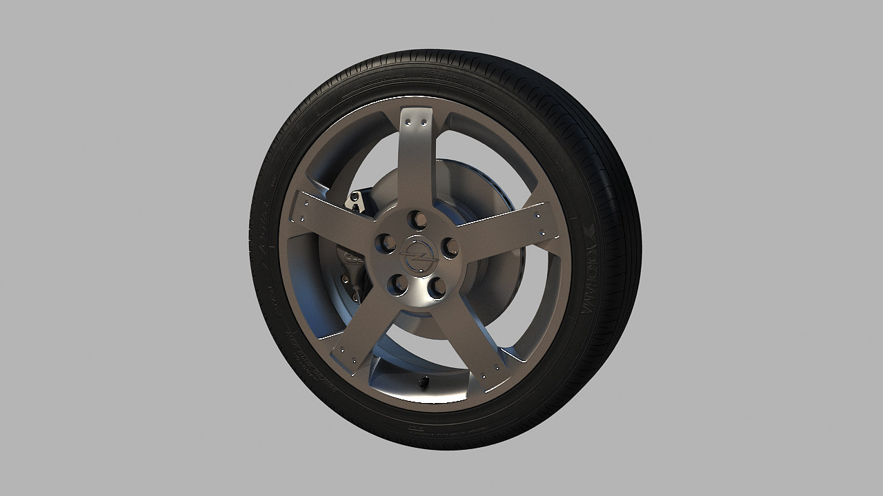 max opel speedster wheel